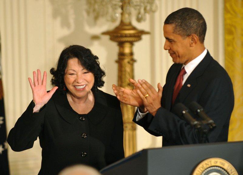 Obama welcomes Sotomayor to high court