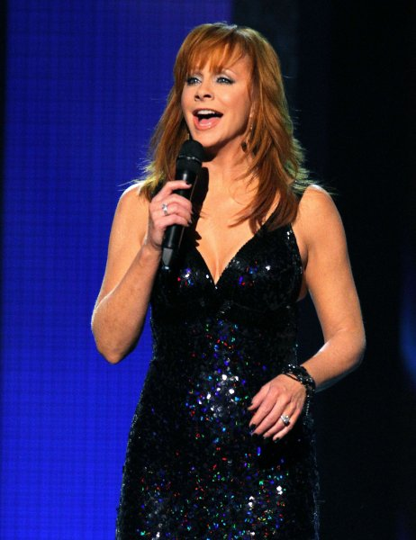 Reba McEntire performs during the 44th Annual Country Music Awards in Nashville, Tennessee on November 10, 2010. UPI/Terry Wyatt
