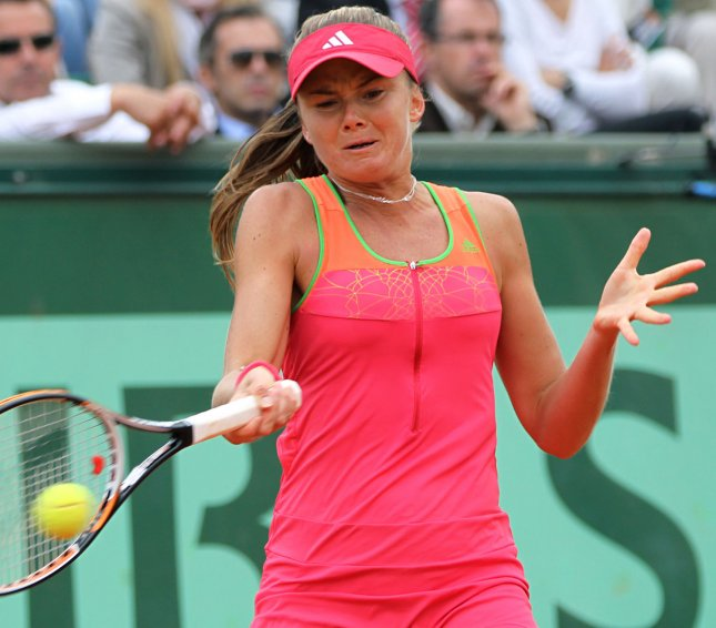 Daniela Hantuchova., shown in a match in May 2011, was among the winners Thursday in second-round play at the PTT Pattaya Open tennis tournament in Thailand. UPI/David Silpa