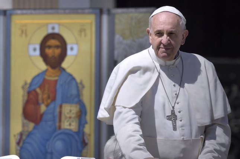 Pope Francis UPI/Stefano Spaziani