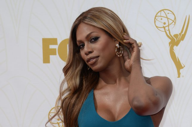 Laverne Cox at the Primetime Emmy Awards on September 20, 2015. The actress will play Dr. Frank-N-Furter in a forthcoming 'Rocky Horror Picture Show' remake. File photo by Jim Ruymen/UPI