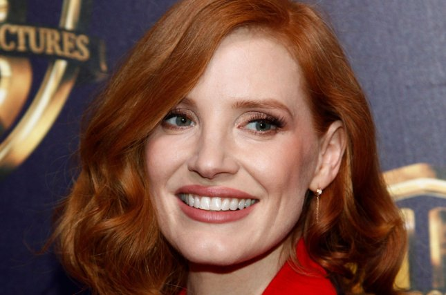 Jessica Chastain will play Tammy Faye Messner in the new film The Eyes of Tammy Faye. File Photo by James Atoa/UPI