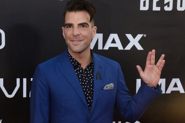 Zachary Quinto is to host a new version of In Search Of. File Photo by Jim Ruymen/UPI