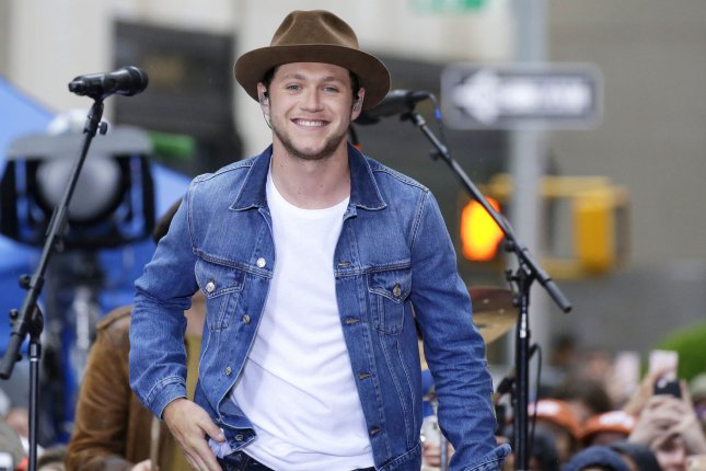 Niall Horan performs on Today on May 29. File Photo by John Angelillo/UPI