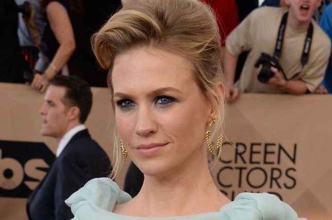 January Jones will play a former figure skater in Spinning Out. File Photo by Jim Ruymen/UPI