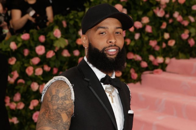 New Cleveland Browns wide receiver Odell Beckham Jr. attended The Metropolitan Museum of Art's Costume Institute Benefit Camp: Notes on Fashion on Monday at the Metropolitan Museum of Art in New York City. Photo by John Angelillo/UPI