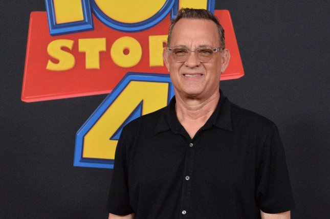 Cast member Tom Hanks, the voice of Woody in Toy Story 4, attends the premiere of the film in Los Angeles on June 11. File Photo by Jim Ruymen/UPI