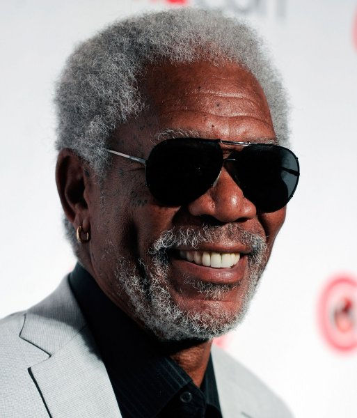 Actor Morgan Freeman, recipient of the Cinema Icon Award,arrives at the CinemaCon awards ceremony at the Pure Nightclub at Caesars Palace during CinemaCon, the official convention of the National Association of Theatre Owners in Las Vegas, Nevada on April 18, 2013. UPI/David Becker
