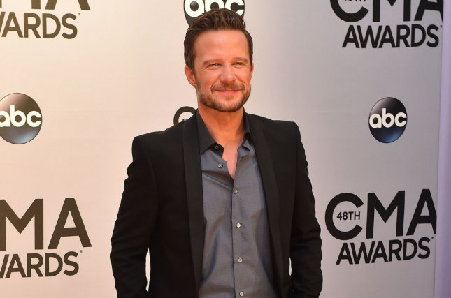 Something Rotten! star Will Chase arrives on the red carpet for the 48th Annual Country Music Awards in Nashville on November 5, 2014. File Photo by Kevin Dietsch/UPI