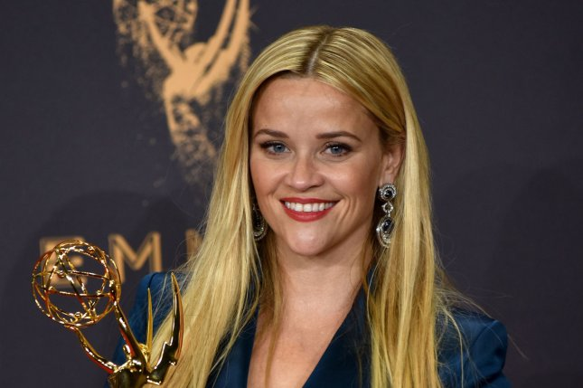 Reese Witherspoon attends the Primetime Emmy Awards on September 17. File Photo by Christine Chew/UPI