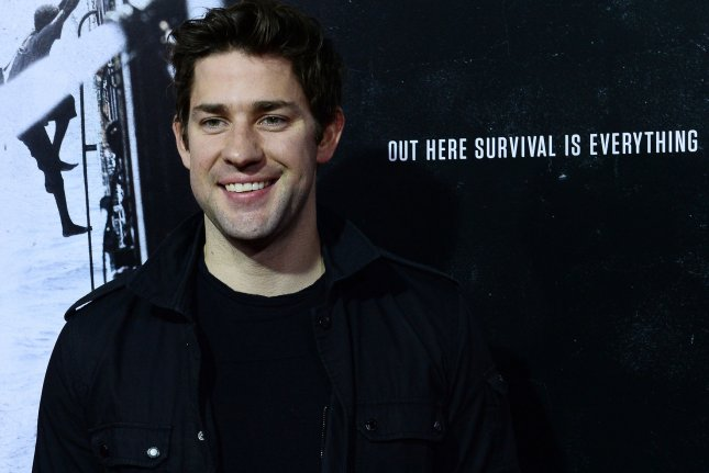 Actor John Krasinski attends the premiere of Captain Phillips in Beverly Hills on September 30, 2013. Amazon released a new trailer for Krasinski's upcoming thriller series Jack Ryan Saturday. File Photo by Jim Ruymen/UPI