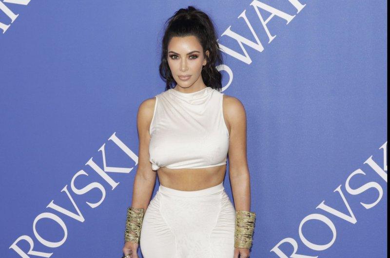 Kim Kardashian attends the CFDA Fashion Awards on Monday. Photo by John Angelillo/UPI
