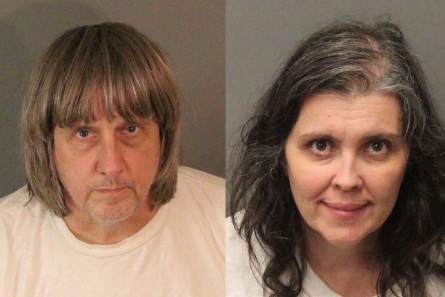 David Turpin (L) and Louise Turpin will be eligible for parole in 25 years. File Photo courtesy of Riverside County