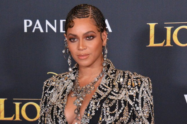Beyonce, the voice of Nala, attends the premiere of The Lion King on Monday. Photo by Jim Ruymen/UPI