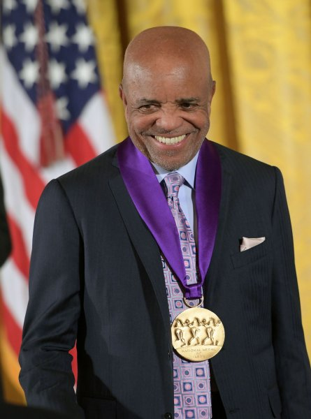 Berry Gordy receives the National Medal of Arts during a ceremony at the White House in Washington, D.C., on September 22, 2016. The songwriter turns 90 on November 28. File Photo by Kevin Dietsch/UPI