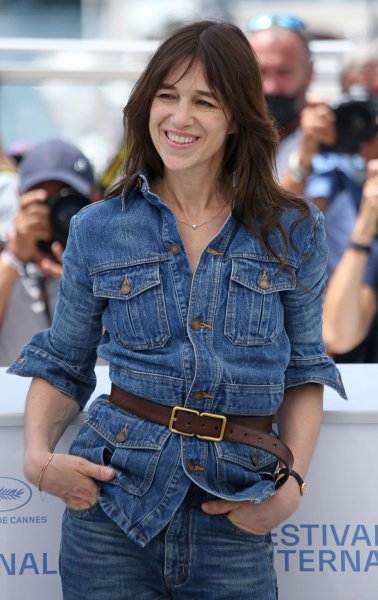 Charlotte Gainsbourg arrives at a photocall for the film Jane par Charlotte during the 74th annual Cannes International Film Festival in France on July 8. The actor turns 50 on July 21. File Photo by David Silpa/UPI