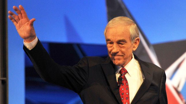 Ron Paul has given up actively campaigning and instead the libertarian Texan is focusing on gathering as many delegates at state Republican conventions as he can going into Tampa. Feb. 22 file photo. UPI /Art Foxall