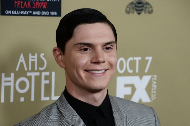 Evan Peters at the Los Angeles premiere of 'American Horror Story: Hotel' on October 3, 2015. Photo by Jim Ruymen/UPI