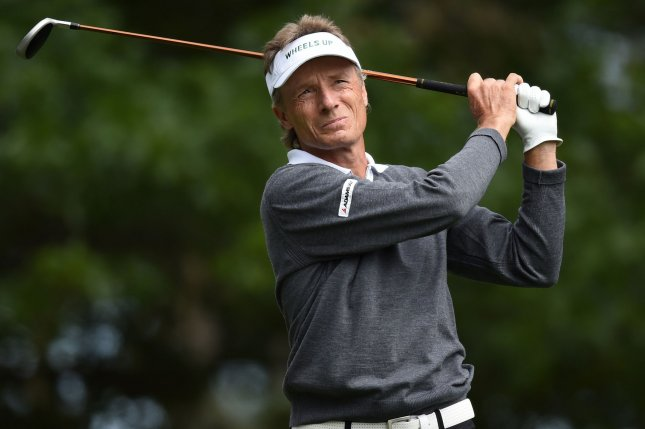 Bernhard Langer is the defending champ at the Regions Tradition, one of his four titles on the senior circuit in 2016. File photo by Kevin Dietsch/UPI