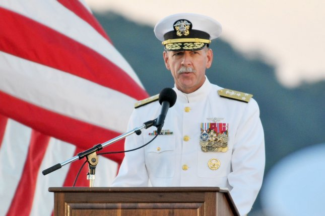 Adm. Scott Swift, commander of the Pacific Fleet, has suggested accepting North Korea as a nuclear power is part of the dialogue. File Photo by Keizo Mori/UPI