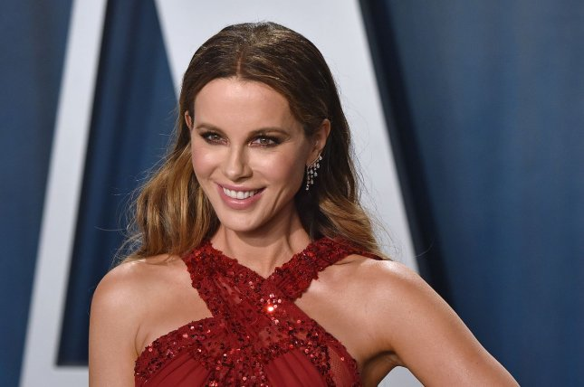 Kate Beckinsale stars in the action movie Jolt. File Photo by Chris Chew/UPI