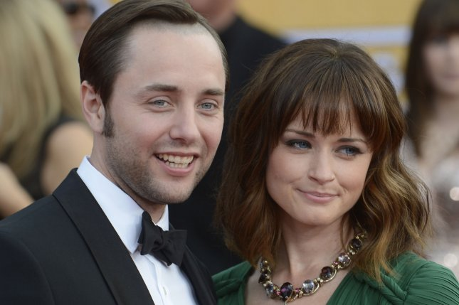 Actor Vincent Kartheiser (L) and actress Alexis Bledel arrive for the 19th Annual SAG Awards in Los Angeles on on January 27, 2013. File Photo by Phil McCarten/UPI