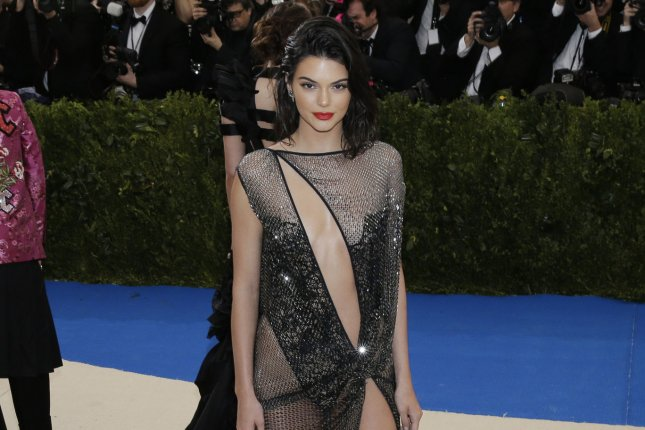 Kendall Jenner attends the Costume Institute Benefit at the Metropolitan Museum of Art on Monday. Photo by John Angelillo/UPI