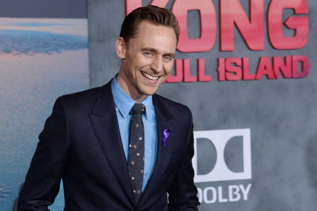 Tom Hiddleston attends the Los Angeles premiere of Kong: Skull Island on March 8. File Photo by Jim Ruymen/UPI