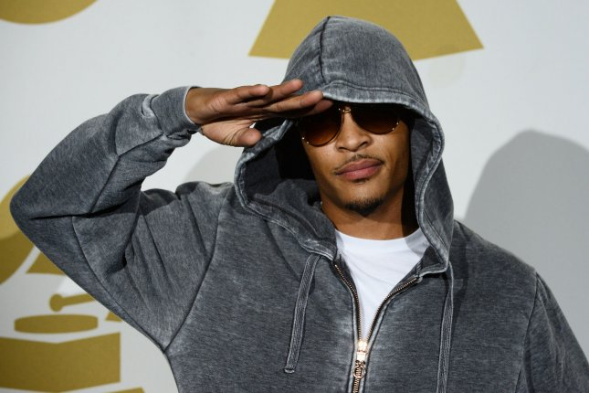 Rapper T.I. was arrested in Henry County Georgia after a confrontation with a security guard. File Photo by Jim Ruymen/UPI