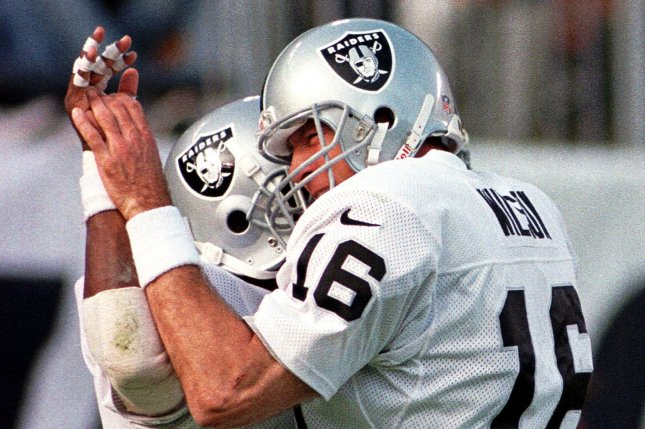Former Oakland Raiders quarterback and NFL coach Wade Wilson Wilson played in 17 seasons with five NFL franchises and served as a quarterbacks coach for 17 additional years.File photo by Earl S. Cryer/UPI