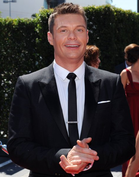 Ryan Seacrest arrives at the Creative Arts Emmy Awards in Los Angeles on August 21, 2010. UPI/Jim Ruymen