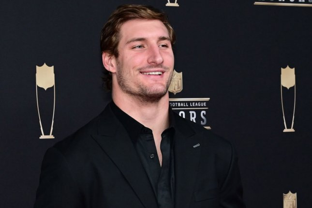 Los Angeles Chargers defensive end Joey Bosa is a huge fan of George R.R. Martin's medieval saga Game of Thrones. File Photo by David Tulis/UPI