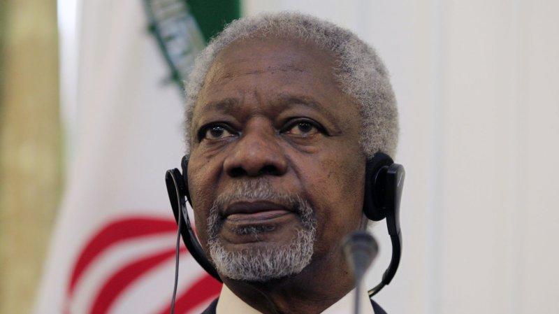 UN envoy Kofi Annan. UPI/Maryam Rahmanian