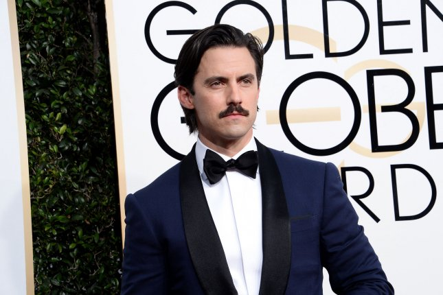 This is Us star Milo Ventimiglia attends the 74th annual Golden Globe Awards in Beverly Hills on January 8. Photo by Jim Ruymen/UPI
