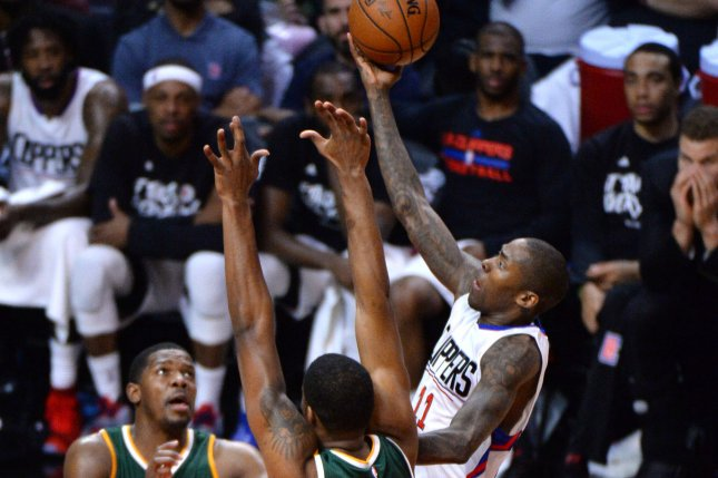 Former Los Angeles Clippers guard Jamal Crawford joined the Phoenix Suns on Monday. File photo by Jon SooHoo/UPI
