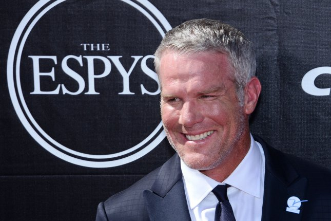 Brett Favre attends the ESPY Awards at Microsoft Theater in Los Angeles on July 15, 2015. Photo by Jim Ruymen/UPI