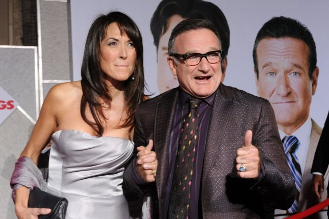 Actor Robin Williams, seen in this file photo attending the premiere of Old Dogs with Susan Schneider at the El Capitan Theatre in the Hollywood section of Los Angeles on November 9, 2009, was found dead in Marin County, California on August 11, 2014. He was 63. File photo by Jim Ruymen/UPI