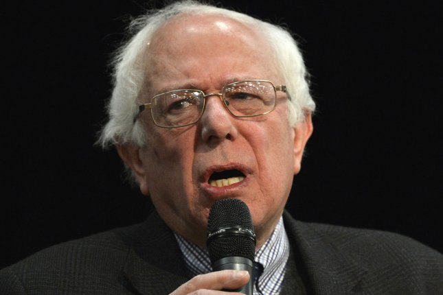 Sen. Bernie Sanders, I-Vt., received the endorsement of a prominent Black Lives Matter activist. Photo by Mike Theiler/UPI