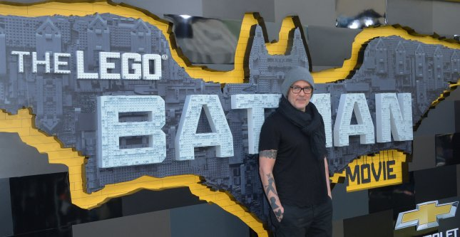 Director Chris McKay attends the premiere of this new animated fantasy The LEGO Batman Movie in Los Angeles on February 4. Photo by Jim Ruymen/UPI