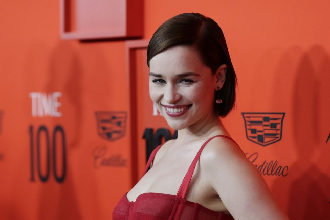 Emilia Clarke played Daenerys Targaryen on the HBO series Game of Thrones. File Photo by John Angelillo/UPI