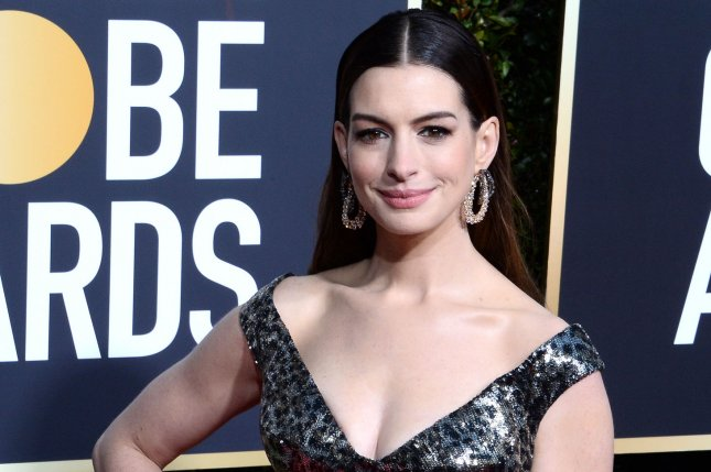 Anne Hathaway said she gained 20 pounds for her new film, The Last Thing He Wanted, and recalled being told to lose weight at age 16. File Photo by Jim Ruymen/UPI