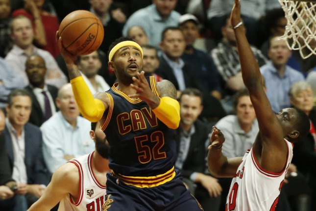 Former Cleveland Cavaliers guard Mo Williams (52) was an All-Star with the Cavs in the 2008-09 season. He last played in the league during the 2015-16 campaign. File Photo by Kamil Krzaczynski/UPI
