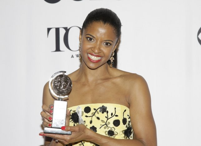 Renee Elise Goldsberry will lead the cast of Billy Porter's film, What If? File Photo by John Angelillo/UPI