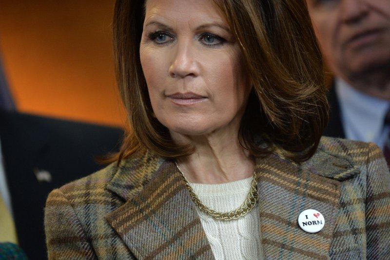 Rep. Michele Bachmann, R-Minn. UPI/Kevin Dietsch