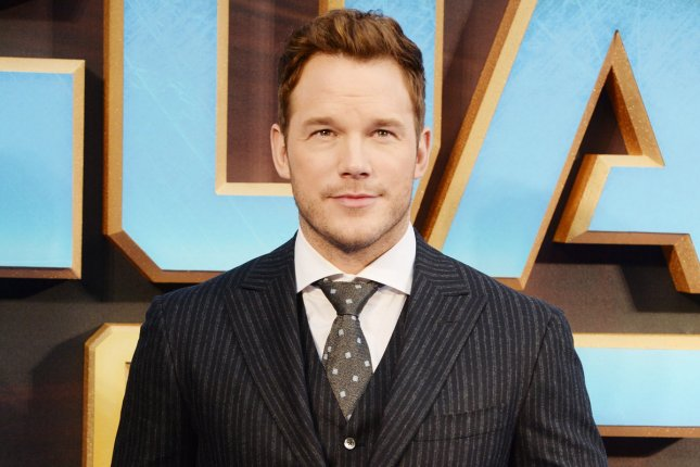 Jurassic World star Chris Pratt attends the premiere of Guardians Of The Galaxy Vol. 2 on April 24, 2017. The sequel to the film has now been titled Jurassic World: Fallen Kingdom. File Photo by Rune Hellestad/ UPI