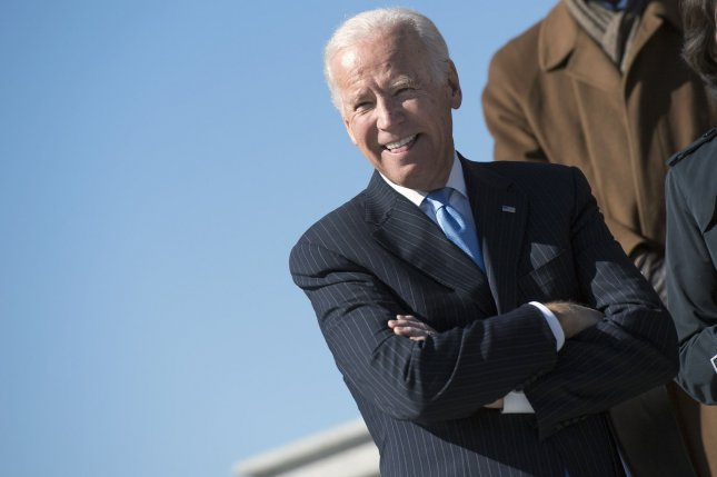 Former Vice President Joe Biden entered the 2020 presidential race on Thursday, four years after deciding against a run. File Photo by Kevin Dietsch/UPI