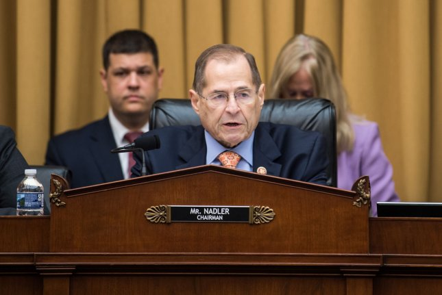 The House judiciary committee, led by Rep. Jerrold Nadler, D-N.Y., released a report outlining historical arguments for impeachment. File Photo by Kevin Dietsch/UPI