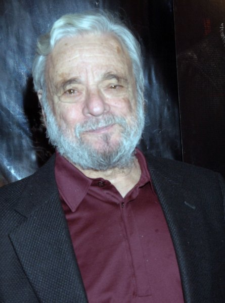 Composer Stephen Sondheim arrives for the world premiere of his film based on his broadway musical Sweeney Todd at the Ziegfeld theatre in New York on December 3, 2007. (UPI Photo/Ezio Petersen)