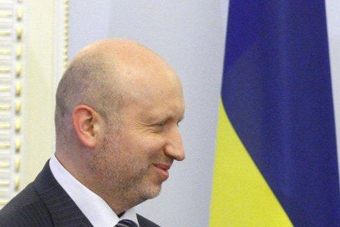 Ukrainian acting President Oleksandr Turchynov, pictured on March, 4, 2014. (UPI/Ivan Vakolenko)