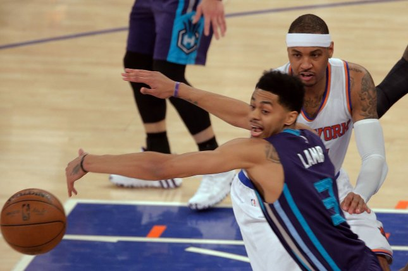 Kemba Walker's 34 points help Charlotte Hornets defeat New York Knicks